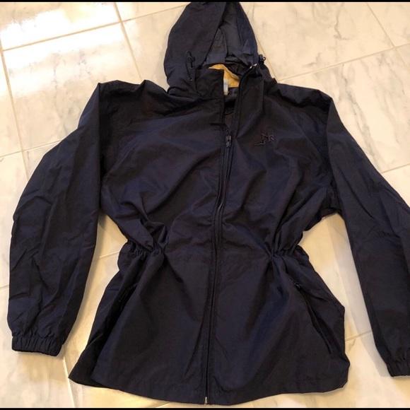 NORTHERN REFLECTIONS   Navy Lightweight Raincoat